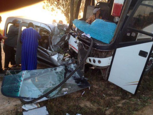 ثلاثة قتلىى ومصابان  حصيلة حادثة سير مميتة بإقليم الجديدة