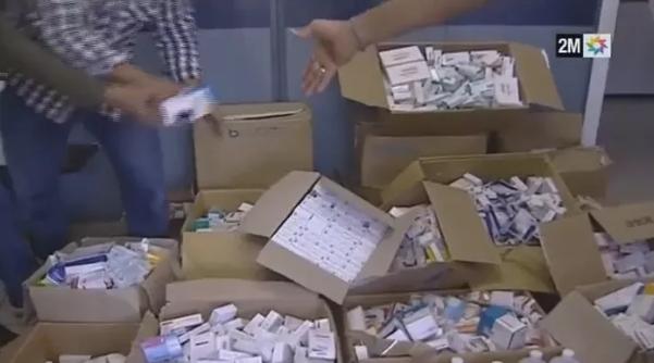 فيديو: حجز كمية مهمة من الأدوية المهربة