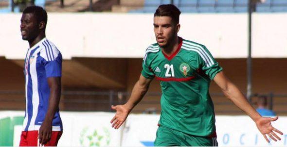 وليد أزارو في المنتخب الوطني الأول