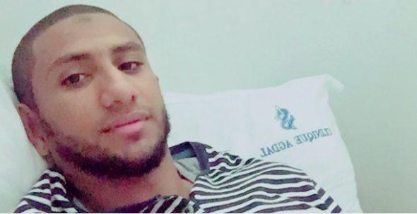 اللاعب عادل الحسناوي يجري عملية جراحية