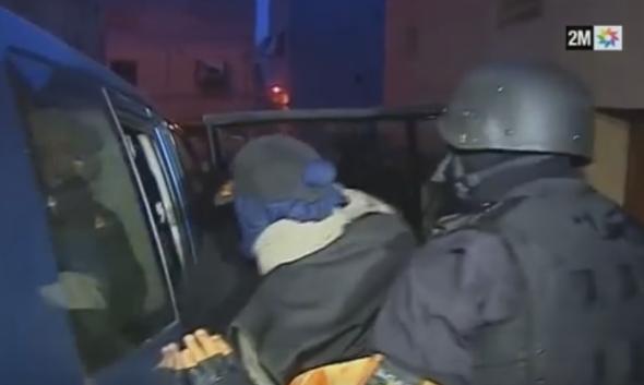 ساكنة أولاد تايمة تحيي رجال الأمن بعد اعتقال قاصرتنتمي لخلية إرهابية