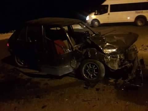 حادثة سير خطيرة بين الجديدة و سيدي بوزيد وخسائر مادية جسيمة