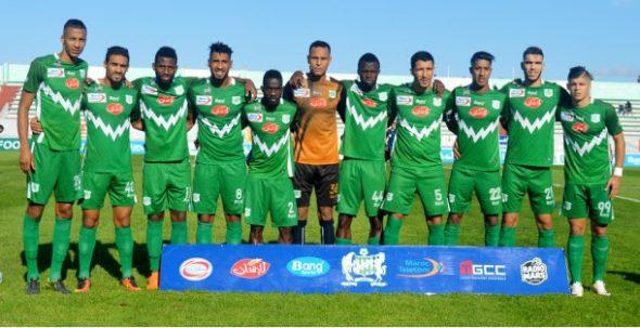 الدفاع الحسني الجديدي يفوز على المغرب التطواني