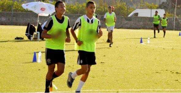 اختبارات تقنية وبدنية للاعبي الفئات الصغرى تحت إشراف الإدارة التقنية للجامعة
