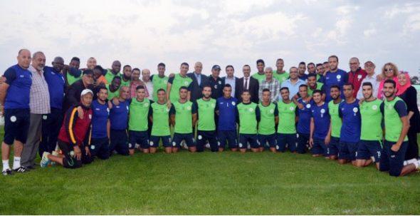 الدفاع الحسني الجديدي مكتمل الصفوف أمام أولمبيك آسفي