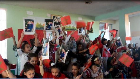 جمعية اباء و أولياء تلاميذ مدرسة التريعي بنات تحتفي بذكرى المسيرة الخضراء