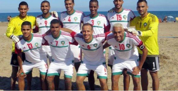 عثمان باشكو بالمنتخب الوطني لكرة القدم الشاطئية