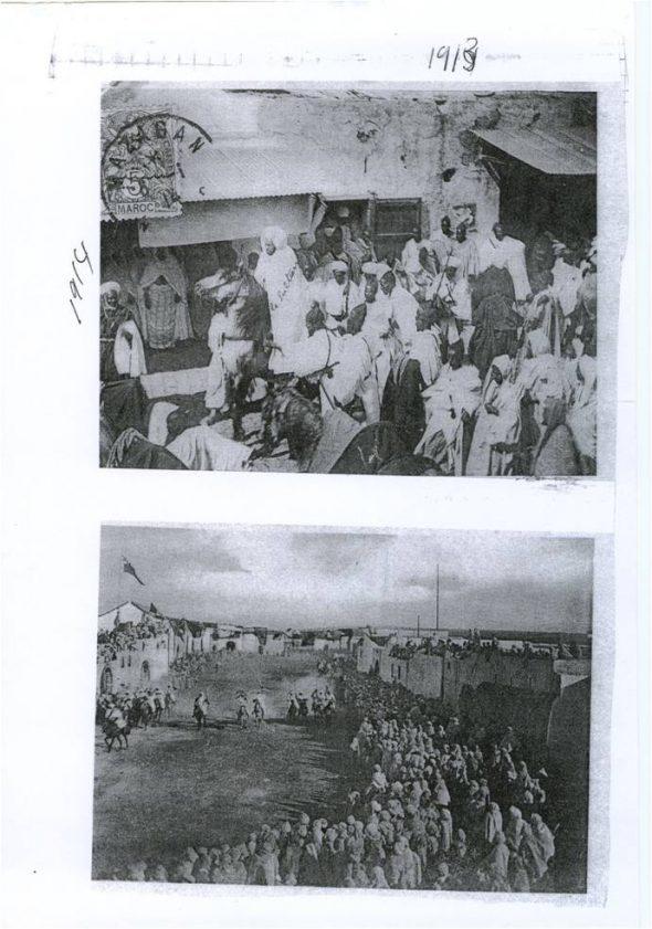 زيارة السلطان مولاي يوسف للجديدة 1914