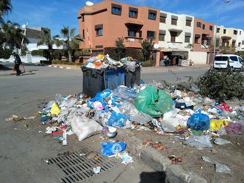 الحالة المزرية لجمع النفايات بالجديدة