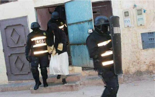 عاجل: قوات مكافحة الإرهاب المعروفة بالمكتب المركزي للشرطة القضائية تفكك خلايا إرهابية بالجديدة و مناطق أخرى.
