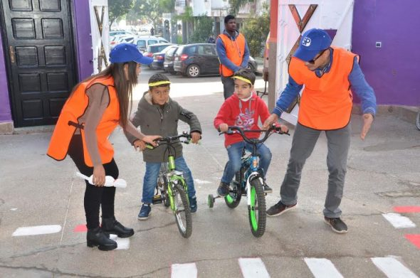 بالصور احتفال جمعيات المجتمع المدني باليوم الوطني للسلامة الطرقية بالجديدة