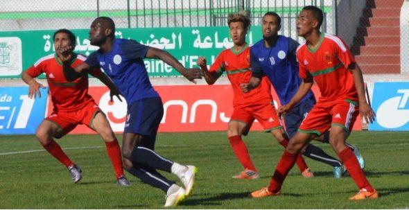 الدفاع الحسني الجديدي يفوز وديا على النادي الرياضي المغربي تيفلت