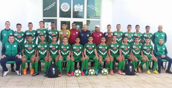 خمسة لاعبين من الدفاع الحسني الجديدي بالمنتخب الوطني لأقل من 17 سنة