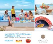 يقدممنتجع مازاغان لزبنائهعطلة للاسترخاء والترفيه و الرياضة في مكان استثنائيلجميع أفراد الأسرة.