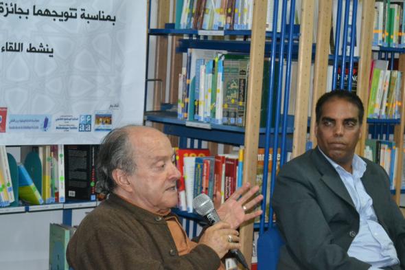 الجديدة تكرم محمد برادة ومصطفى النحال  بمناسبة تتويجهما بجائزة كتارا  إبراهيم الحجري- الجديدة