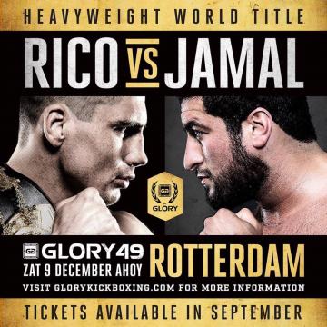 الرياضية تنقل نزال جمال بن صديق ضد الوحش الهولندي ريكو