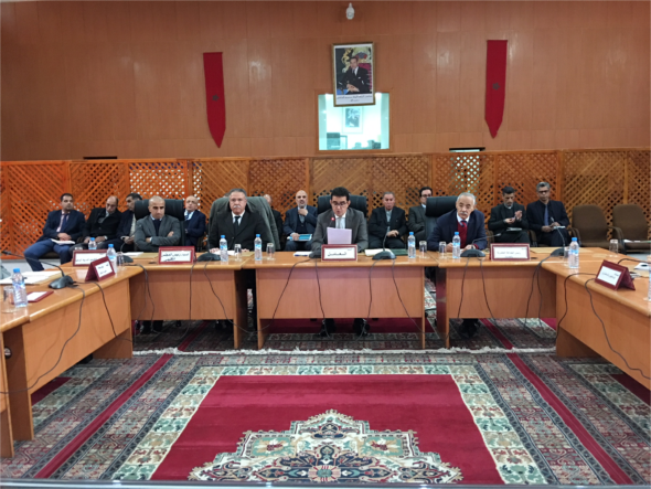 أشغال الاجتماع الأول للجنة التقنية الإقليمية برسم سنة 2018 الذي هم قطاع التعليم