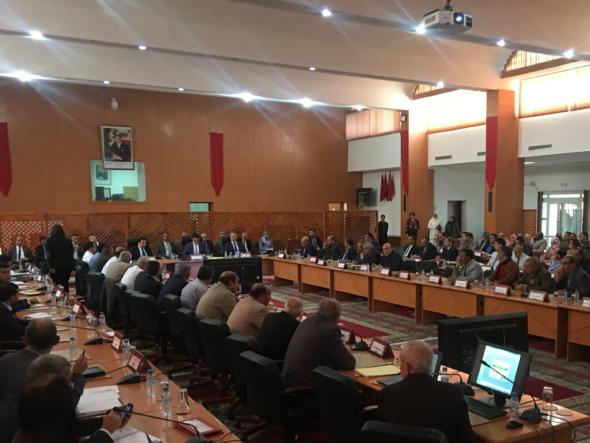 الجديدة…اجتماع اللجنة التقنية الذي خصص لقطاع الفلاحة