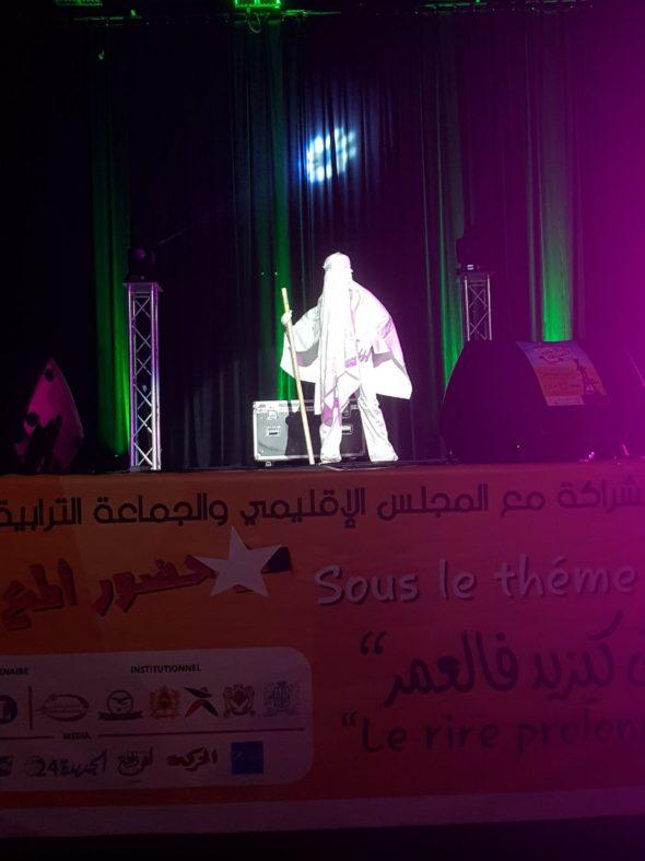افتتاح فعاليات مهرجان الضحك للجديدة في نسخته الحادية عشر تحت شعار » الضحك يزيد فالعــمر «