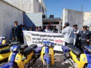 الموزعون و مستخدموا مركز التوزيع بالجديدة يخرجون للاحتجاج في الشارع العام ضد ادارة بريد المغرب