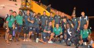 فريق الدفاع الحسني الجديدي يصل إلى لوبومباشي الكونغولية