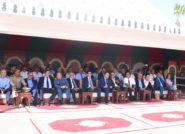 وزير الثقافة والاتصال يعلن من موسم مولاي عبد الله أمغار عن تخصيص 2 مليون درهم لترميم أسوار رباط تيط التاريخي.