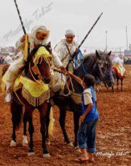 اختتام فعاليات موسم مولاي عبد الله أمغار بإطلاق الشهب الاصطناعية وتوزيع الجوائز على سربات الخيل المتوجة
