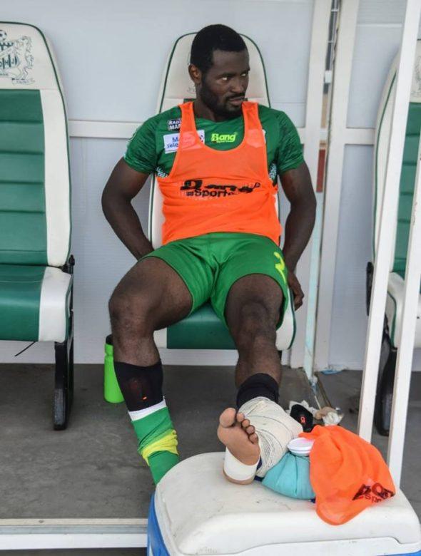 إصابة اللاعب فابريس نغاه لا تدعو للقلق