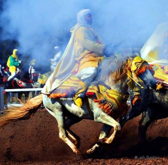 أولاد رحمون  اختتام فعاليات مهرجان التبوريدة   التعريف بمؤهلات المنطقة الطبيعية والسياحية