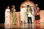"""قدمت  فرقة أمجاد للمسرح مسرحية"""" طامو مولات الشان""""  بمسرح المركز الثقافي لسطات ."""