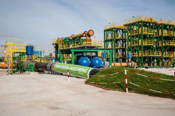 أنبوب نقل لباب الفوسفاط: ثورة تكنولوجية تمكن OCPمن اقتصاد 3 مليون متر مكعب من الموارد المائية سنويا.