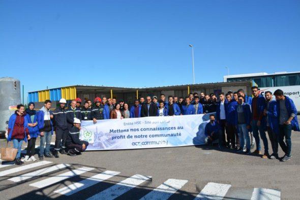 OCPالجرفالأصفر يفتح أبواب المنصة الصناعية لتلاميذ مكتب التكوين المهني وإنعاش الشغل