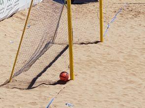 نجاح النسخة الاولى لدوري الكرة الشاطئية .
